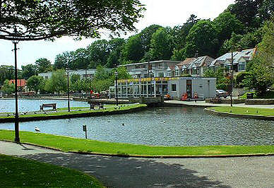 Newquay Boating Lake, Cornwall
